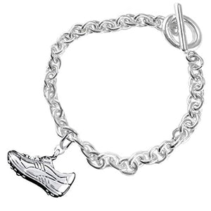 "The Perfect Gift "" Soccer Shoe Jewelry"" Bracelet ©2016 Hypoallergenic, Safe - Nickel & Lead Free"