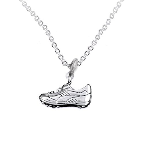 """the perfect gift """"soccer shoe jewelry"""" adjustable necklace  ©2016 safe - nickel & lead free"""