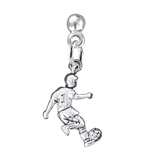 "the perfect gift "" soccer player jewelry"" earrings  ©2016 hypoallergenic, safe - nickel & lead free"