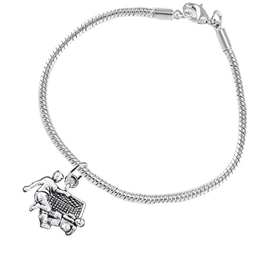 """the perfect gift """" soccer goalie jewelry"""" bracelet  ©2016 hypoallergenic, safe - nickel & lead free"""
