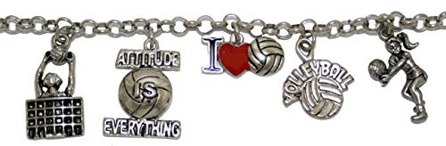 i love volleyball adjustable bracelet  ©2012, safe - hypoallergenic, nickel, lead & cadmium free!