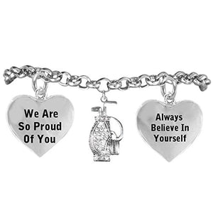 "Golf Hypoallergenic ""Always Believe in Yourself"" Bracelet, Safe - Nickel, Lead & Cadmium Free!"