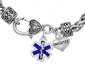 EMT Daughter Bracelet, Hypoallergenic, Safe - Nickel & Lead Free