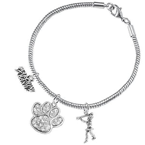 "The Perfect Gift ""Majorette Jewelry"" Crystal ©2015 Hypoallergenic Adjustable Bracelet"