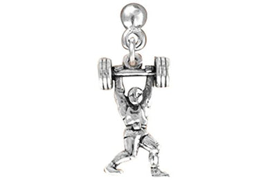 Weight Lifter Hypoallergenic Post Earring, Safe - Nickel, Lead & Cadmium Free!