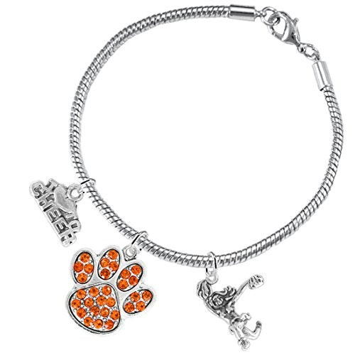 Orange Paw Crystal