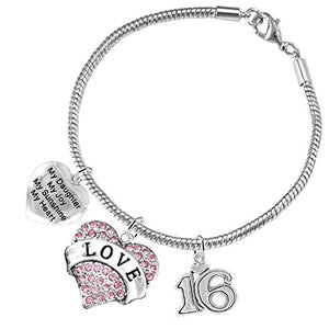 "The Perfect Gift Sweet Sixteen Hypoallergenic ""My ""Daughter"", My Joy, My Sunshine"" ©2016 Nickel Free"