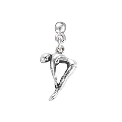Swim Diver Charm Post Earrings ©2009 Hypoallergenic, Adjustable Safe - Nickel, Lead & Cadmium Free!