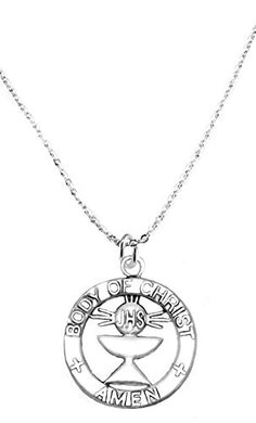 Communion Children's Necklace, Safe - Nickel, Lead & Cadmium Free!