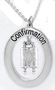 The Perfect Gift Jewish Confirmation Hypoallergenic Necklace, Safe - Nickel, Lead & Cadmium Free!