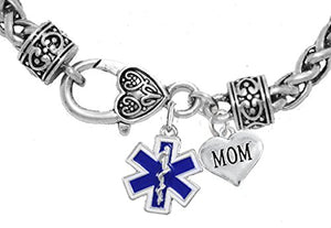 EMT Mom Bracelet, Hypoallergenic, Safe - Nickel & Lead Free