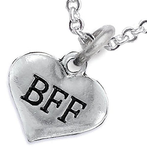 BFF Adjustable Necklace, Will NOT Irritate Anyone with Sensitive Skin, Safe, Nickel Free.