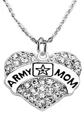 The Perfect Gift Army Mom Hypoallergenic Adjustable Necklace, Safe - Nickel & Lead Free