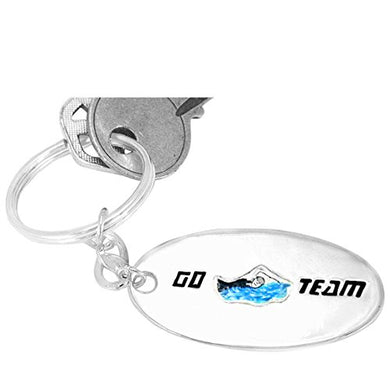 Swimming Key Chain ©2009 Hypoallergenic, Adjustable Safe - Nickel, Lead & Cadmium Free!