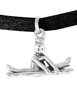 "Gymnast ""Jump to Side Split"" Bracelet, Adjustable, Hypoallergenic Safe - Nickel, Lead & Cadmium Free"