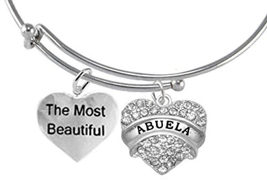 The Most Beautiful Abuela, Hypoallergenic, Safe - Nickel & Lead Free