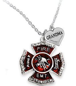EMT Grandma Adjustable Necklace, Hypoallergenic, Safe - Nickel & Lead Free