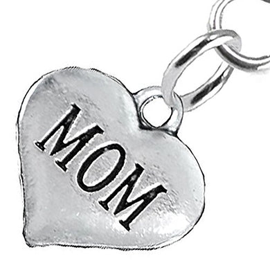 Mom Fishhook Earring, Will NOT Irritate Anyone with Sensitive Skin, Safe, Nickel & Lead Free.