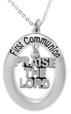 The Perfect Gift First Communion Hypoallergenic Children's Necklace, Safe - Nickel & Lead Free!