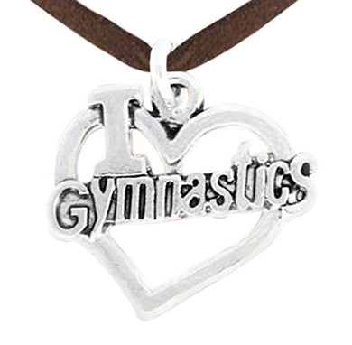 Children's Gymnastic Necklace, Adjustable, Nickel & Lead Free!