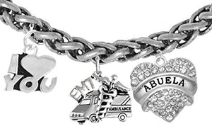 EMT, Abuela Wheat Chain Bracelet, Hypoallergenic, Safe - Nickel & Lead Free