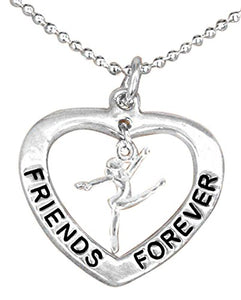 Friends Forever Gift Necklace, Adjustable, Hypoallergenic, Nickel, Lead & Cadmium Free!