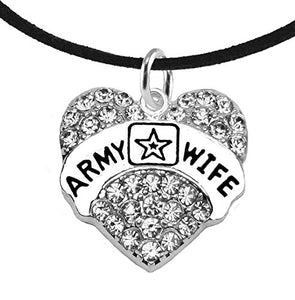 The Perfect Gift Army Wife Hypoallergenic Adjustable Necklace, Safe - Nickel & Lead Free