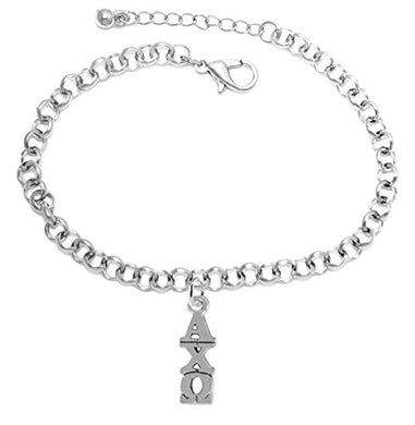 Alpha Chi Omega Licensed Sorority Jewelry Manufacturer, Hypoallergenic Safe Adjustable Fits Anyone