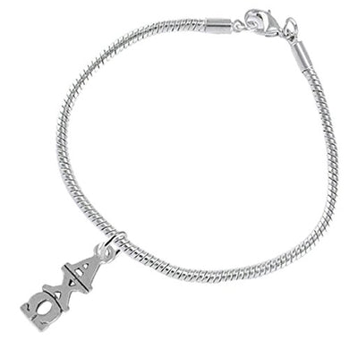 Alpha Chi Omega - Licensed Sorority Jewelry Manufacturer, Hypoallergenic Safe Bracelet