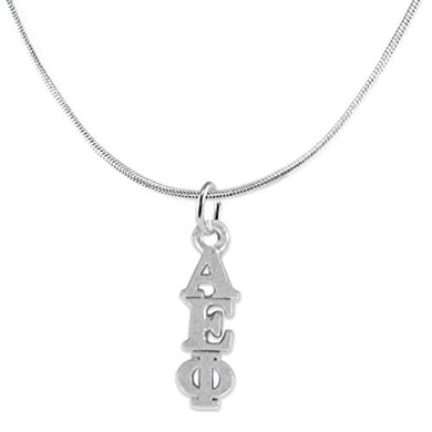 Alpha Epsilon Phi-Licensed Sorority Jewelry Manufacturer, Hypoallergenic Safe Necklace