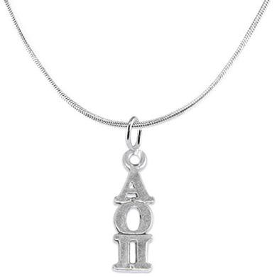 Alpha Omicron Pi - Licensed Sorority Jewelry Manufacturer, Hypoallergenic-Safe, Nickel & Lead Free