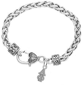 Alpha Phi - Licensed Sorority Jewelry Manufacturer, Hypoallergenic Safe Lavalier Bracelet