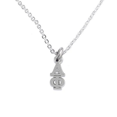 Alpha Phi - Licensed Sorority Jewelry Manufacturer, Hypoallergenic Safe Lavalier Necklace