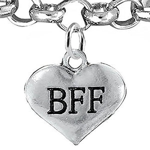 BFF Adjustable Bracelet, Will NOT Irritate Anyone with Sensitive Skin, Safe, Nickel Free.