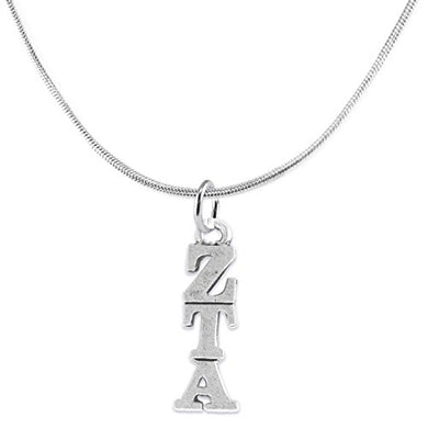 Zeta Tau Alpha - Licensed Sorority Jewelry Manufacturer, Hypoallergenic Safe Lavalier Necklace
