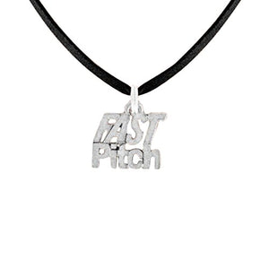 Fast Pitch Hypoallergenic Adjustable Necklace Safe - Nickel & Lead Free
