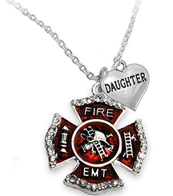 EMT Daughter Adjustable Necklace, Hypoallergenic, Safe - Nickel & Lead Free