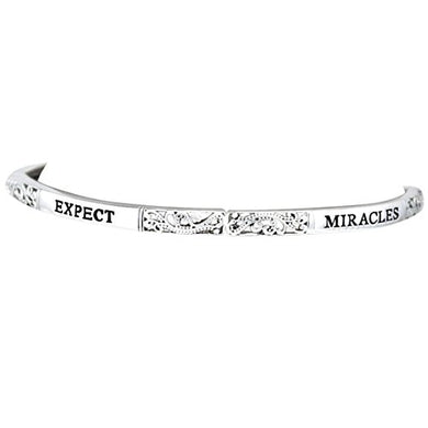 Expect Miracles Stretch Adjustable Bracelet Hypoallergenic, Safe - Nickel & Lead Free