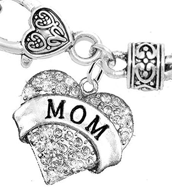 Mom Charm Bracelet ©2015 Hypoallergenic, Safe - Nickel, Lead & Cadmium Free!