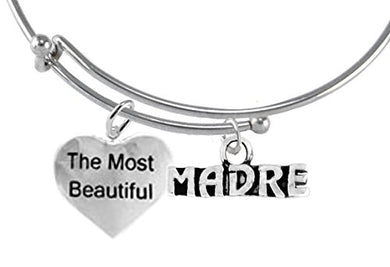 The Most Beautiful Madre, Adjustable, Hypoallergenic, Safe - Nickel & Lead Free