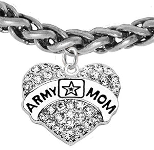 The Perfect Gift Army Mom Hypoallergenic Bracelet, Safe - Nickel & Lead Free