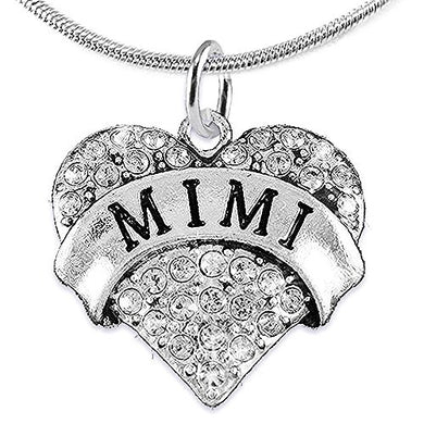 Mimi Charm Necklace ©2015 Adjustable, Hypoallergenic, Safe - Nickel, Lead & Cadmium Free!
