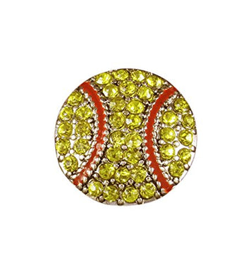 Cute Softball Post Earrings ©2013 Hypoallergenic, Safe - Nickel, Lead & Cadmium Free!