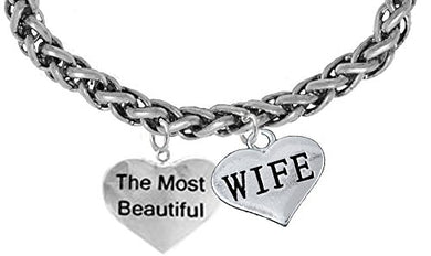 The Most Beautiful Wife Bracelet, Hypoallergenic, Safe - Nickel & Lead Free