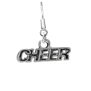 Cheer Fishhook Earrings ©2011, Safe - Hypoallergenic, Nickel, Lead & Cadmium Free