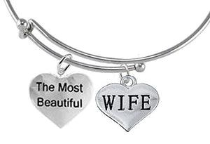 The Most Beautiful Wife, Adjustable, Hypoallergenic, Safe - Nickel & Lead Free