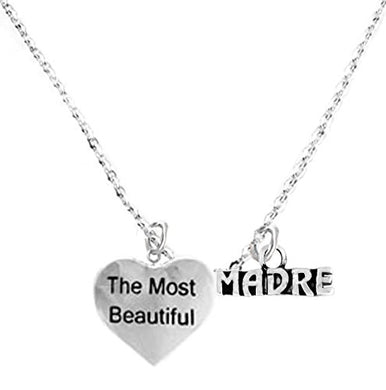 The Most Beautiful Madre Adjustable Curb Chain Necklace, Safe - Nickel & Lead Free.