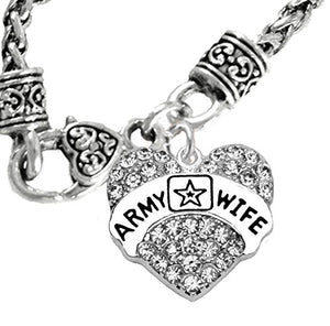 The Perfect Gift Army Wife Hypoallergenic Wheat Chain Necklace, Safe - Nickel & Lead Free