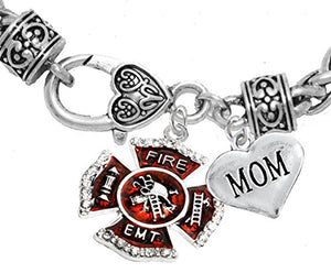 EMT Mom Adjustable Bracelet, Hypoallergenic, Safe - Nickel & Lead Free
