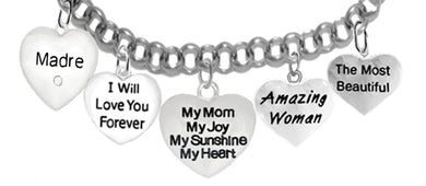 Mom, Madre, I Will Love,My Mom,My Joy,Amazing Woman,Beautiful,No Nickel 1891-1887-1893-265-276B2